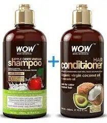Set de shampoo y acondicionador ha sido elaborado con aceite de coco virgen con la función de rejuvenecer y darle brillo al cabello